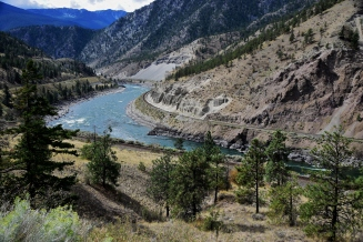 Thompson River south of Kamloops, B. C.