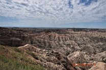 Centuries of erosion expose many layers in the Badlands.