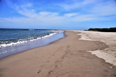 Or maybe a deserted beach.